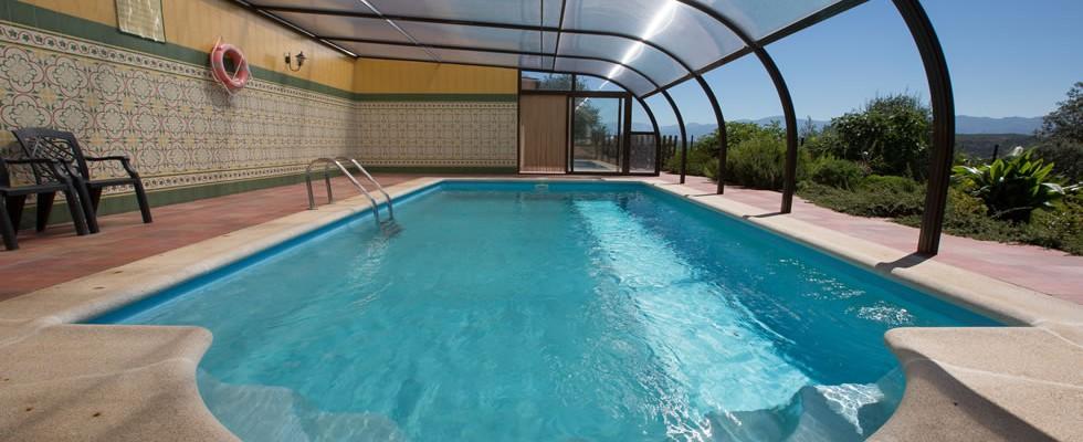 El jardin del poeta apartamentos rurales c ceres - Casas rurales en el jerte con piscina ...